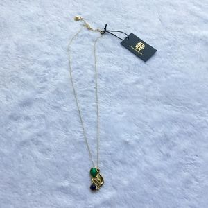 NWT House of Harlow Gold Pendant Necklace